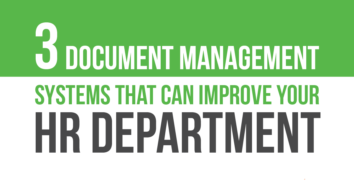Document Management for Your HR Department