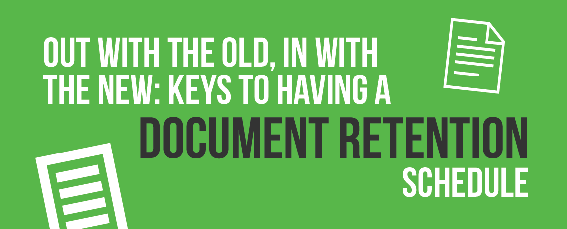 Document Retention Schedule